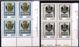 DDR 1989, Michel# 3303 - 3305 ** Mit DV - DDR