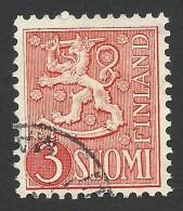 Finland, 3 M. 1954, Sc # 314, Used - Finland