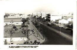 Lourenco Marques - Vista Da Avenida Da Republica - & Bus, Old Cars - Mozambique