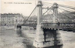 LYON - Pont Du Midi Sur La Saone (Pont Suspendu)   (91317) - Altri