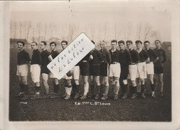 SAINT-LOUIS - Equipe 1ère De Rugby  ( Photo 18 Cm X 13 Cm ) - France