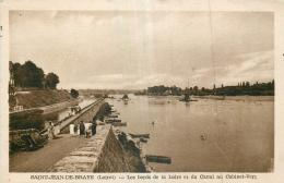 45 SAINT-JEAN-DE-BRAYE BORDSD DE LA LOIRE ET CANAL AU CABINET-VERT - France