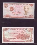 VIET-NAM 1987 200 DONGS NEUF UNC P100 - Vietnam