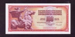 YOUGOSLAVIE 1986 100 DINARA  NEUF UNC P90 - Yougoslavie