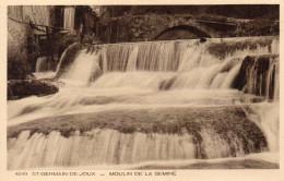 CPA SAINT GERMAIN DE JOUX - MOULIN DE LA SEMINE - Frankrijk