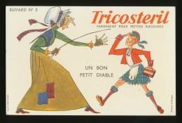 Buvard - TRICOSTERIL N°5 - Blotters