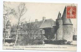 66 - Château De Maisontiers Par St Loup (XV ème Siècle) - Vue De La Cour Intérieure - 79 - Autres Communes