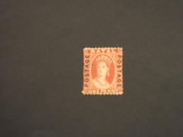 NATAL - 1869 REGINA 1 P. (difettoso) - NUOVO(+) - South Africa (...-1961)
