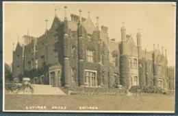 3 X  Buckinghamshire Latimer House, River Chess RP Postcards - Buckinghamshire