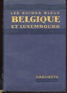 LES GUIDES BLEUS BELGIQUE ET LUXEMBOURG - Belgium