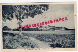 35 - PAIMPONT - L' ETANG ET L' ABBAYE - Paimpont
