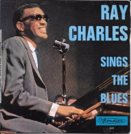 """Ray CHARLES-""""Sings The Blues""""-super 45 T.(4 Titres) -Visadisc-BE - Blues"""