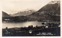CPA ANNECY - DUINGT - L'EGLISE LE CHATEAU ET TALLOIRES - Annecy