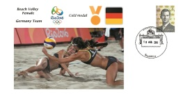 Spain 2016 - Olympic Games Rio 2016 - Gold Medal Beach Volley Female Germany Cover - Juegos Olímpicos