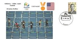 Spain 2016 - Olympic Games Rio 2016 - Gold Medal Athletics Female USA Cover - Juegos Olímpicos