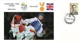 Spain 2016 - Olympic Games Rio 2016 - Gold Medal Taekwondo Female Great Britain Cover - Juegos Olímpicos