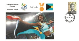 Spain 2016 - Olympic Games Rio 2016 - Gold Medal Athletics Female Bahamas Cover - Otros