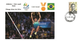 Spain 2016 - Olympic Games Rio 2016 - Gold Medal Athletics Male Brazil Cover - Juegos Olímpicos
