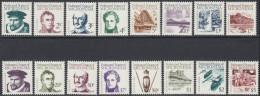 Micronesia 1984 Definitive Stamps: Seafarers, Landscapes, Culture. Mi 5-20 MNH - Micronesia