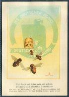 Germany Deutsche Reich Honey Bee Deutscher Inkerbund ISS Deutschen Honig Advertising Postcard - Advertising
