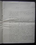 Discours Pour Un Mariage Religieux...8 Pages écrites, Manuscrit à Dater - Manuscritos