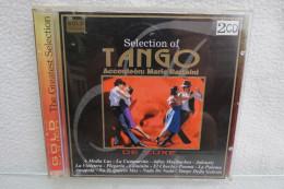 """2 CD """"Selection Of Tango"""" Accordeon Mario Battaini De Luxe - Instrumental"""