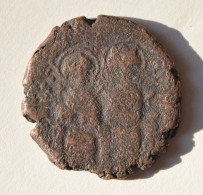 """BYZANTINE Justin II Et Sophie (565-578) """"Follis"""" Atelier De Constantinople - Byzantinische Münzen"""