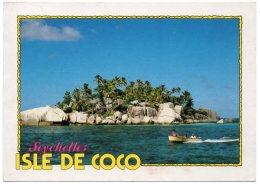 SEYCHELLES - ISLE DE COCO / THEMATIC STAMP-SPACE - APOLLO 11 - Seychelles