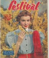 Revue Festival No  208 Françoise Arnoul Violettes Impériales 2 Eme Trimestre 1953 - Revistas