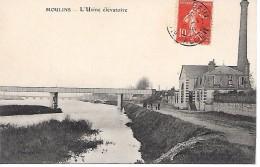 MOULINS - ( 03 ) -   L'Usine élèvatoire - Houseboats