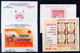 MACEDOINE   Timbres Neufs ** De 1995 / 6 ( Ref 4003  )  Bienfaisance - Macédoine