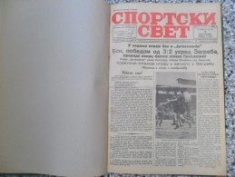 SPORTSKI SVET 1940, BEOGRAD, 24 PIECES, BANDED, PERFECT CONDITION - Livres