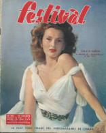Revue Festival No  206zsa-zsa Gabor Georges Guétary Violettes Impériales 2 Eme Trmestre 1953 - Revistas