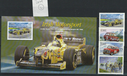 IE - IRLAND - MOTORSPORT 2001 - ** - POSTFRISCH - MNH - CARS-AUTOS(2) - Neufs