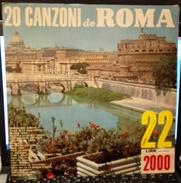 20 CANZONI DE ROMA NIAGARA 22 Disco LP ARTISTI VARI - Dischi In Vinile