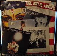 LP –ONE WAY TO AMERICA 1984 COCKER DALBELLO TURNER STEVEN - Disco, Pop