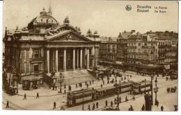 Bruxelles  La Bourse    Tram - Non Classés