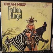 LP– URIAH HEEP 1976 FALLEN ANGEL - Rock