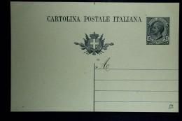 Italia: Cartolina Postale  Mi  P 48 II  Not Used 1919 - Postwaardestukken