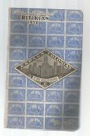 Catalogue De Timbres Poste ,CRITIKIAN , 1966 , ESPANA COLONIAS Y EX COLONIAS , 96 Pages , Frais Fr : 4.00€ - Spagna