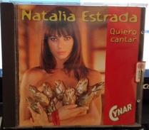 CD NATALIA ESTRADA 1998 QUIERO CANTAR - Disco, Pop