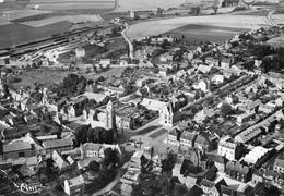 ROISEL  (Somme)  -  Vue Générale Aérienne  -  La Place De L' Hôtel De Ville - Roisel