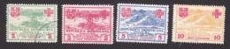 Dominican Republic, Scott #RA1-RA4, Used, Hurricane, Issued 1930 - Dominicaine (République)