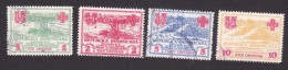 Dominican Republic, Scott #RA1-RA4, Used, Hurricane, Issued 1930 - Dominican Republic