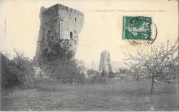 REGNEVILLE (50) Ruines Du Chateau Fort Du XIIè Siècle - Francia