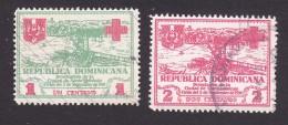 Dominican Republic, Scott #RA1-RA2, Used, Hurricane, Issued 1930 - Dominican Republic