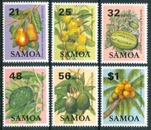 1984 Samoa Frutta Fruit Set MNH** Car25 - Samoa