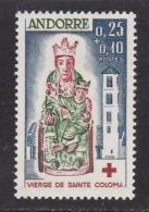 ANDORRA FRANCESA  1964 - Sello Nuevo Sin Fijasellos Yvert Nº 172 Cat. 35 € -MNH- - Unused Stamps
