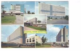 94 Creteil Centre Hospitalier Universitaire Carte 5 Vues - Creteil