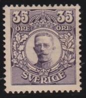 Sweden        .   Yvert     71          .       *              .               Mint-hinged